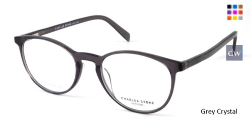 Grey Crystal William Morris Charles Stone NY CSNY30047 Eyeglasses.