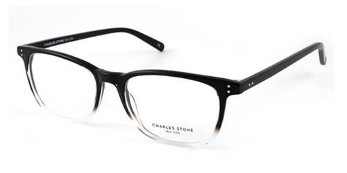 Black Crystal William Morris Charles Stone NY CSNY30048 Eyeglasses.