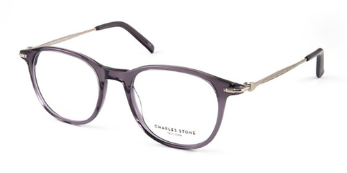 Grey Crystal William Morris Charles Stone NY CSNY30052 Eyeglasses - Teenager.