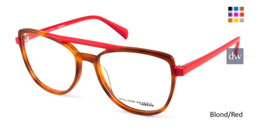 Blond/Red William Morris London WM50118 Eyeglasses.