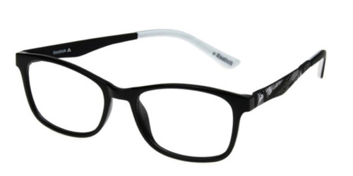Black Reebok RV6019 Eyeglasses - Teenager