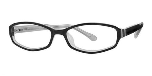 Black Elan 9295 Eyeglasses.