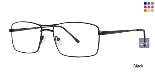 Black Vivid Metalflex 1039 Eyeglasses.