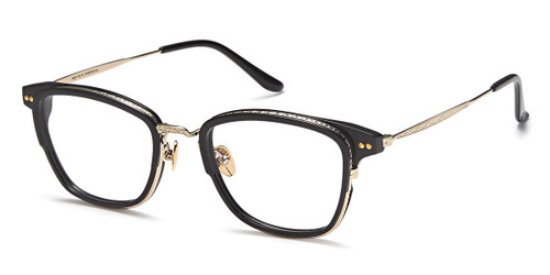 Black/Gold Capri AGO PF80005 Eyeglasses.