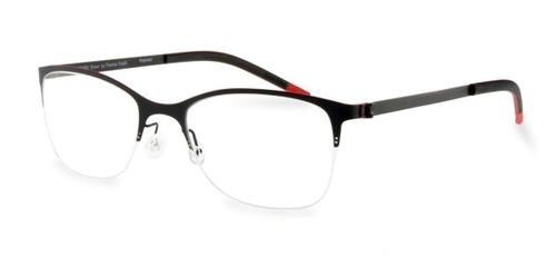 Black Free-Form FFA914 Eyeglasses.