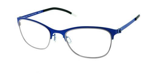 Matte Blue Free-Form FFA922 Eyeglasses