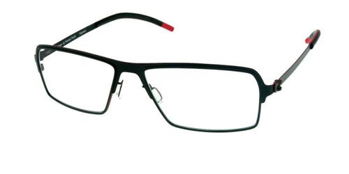 Matte Black Free-Form FFA924 Eyeglasses