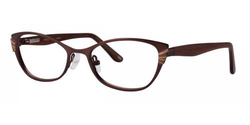 Brown Style By Timex Junket Eyeglasses
