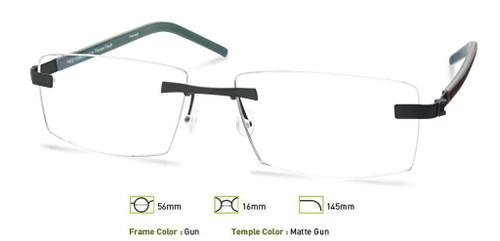 Gunmetal Free-Form FFA967 Eyeglasses