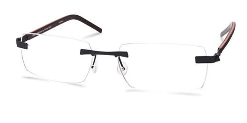 Dark Gunmetal Free-Form FFA968 Eyeglasses