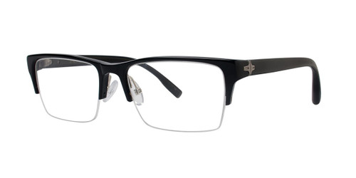 Black Zac Posen Professor Eyeglasses.