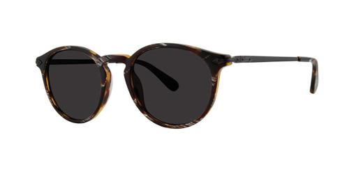 Black Horn Zac Posen Jean Paul Sunglasses.