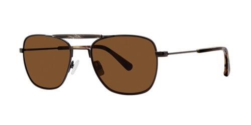 Black Zac Posen Brock Sunglasses.