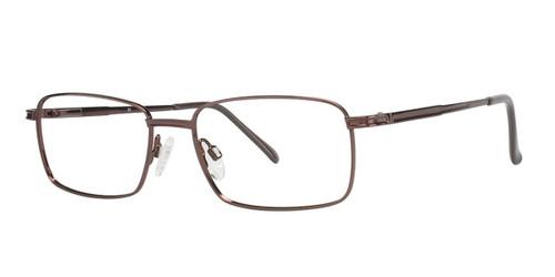 Brown (c03) C By L'Amy 600 Eyeglasses.