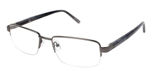 Dark Grey (c01) C By L'Amy 615 Eyeglasses.
