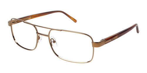 Dark Copper (c03) C By L'Amy 616 Eyeglasses.