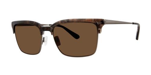 Crystal Walnut Zac Posen Driggs Sunglasses.