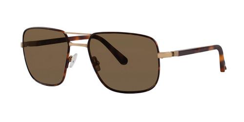 Blonde Tortoise Zac Posen Clement Sunglasses.
