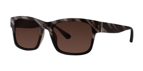 Black Horn Zac Posen Culver Sunglasses.