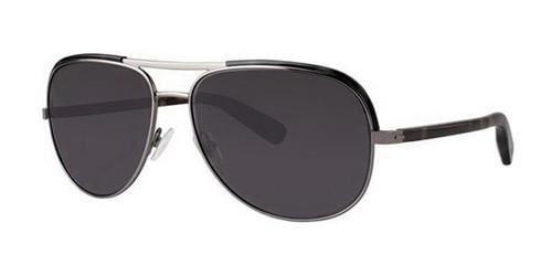 Olive Tortoise Zac Posen Theo Sunglasses.