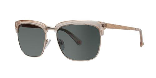 Matte Taupe Zac Posen Gable Sunglasses