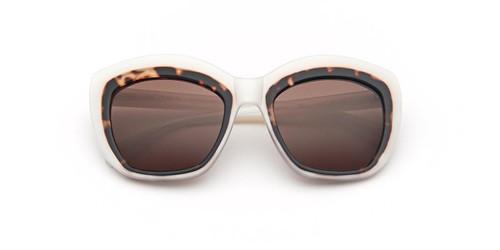 Tortoise Zac Posen Yasmine Sunglasses.