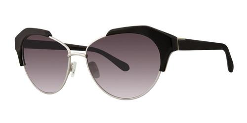 Black Zac Posen Keke Sunglasses.