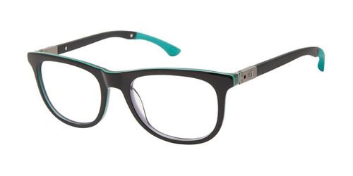 Black Green c01 Champion 3RING Tween Champion Eyeglasses.