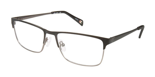 Black/Gunmetal c01 Champion 1018 Eyeglasses.
