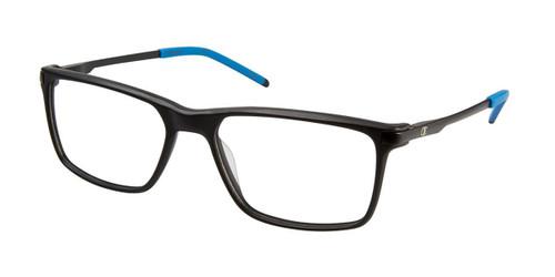 Black c01 Champion 4009 Extended Size Eyeglasses.