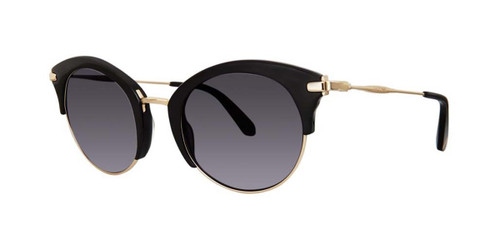 Black Zac Posen Zadie Sunglasses.