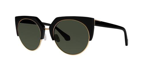 Black Zac Posen Naomi Sunglasses.