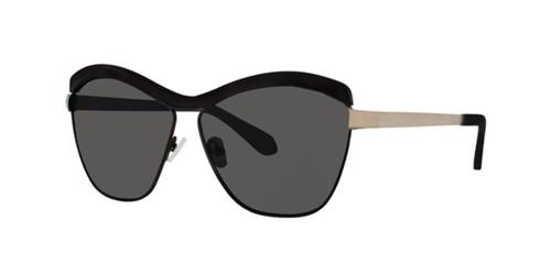 Black Zac Posen Luciana Sunglasses.