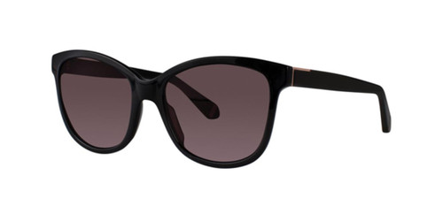 Black Zac Posen Eloyse Sunglasses.