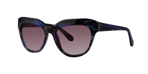 Blue Tortoise Zac Posen Noble Sunglasses.