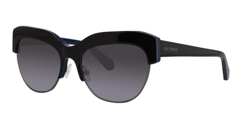 Navy Tortoise Zac Posen Kouka Sunglasses.