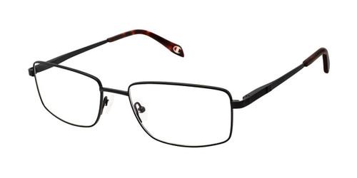 Black c03 Champion 4021 Extended Size Titanium Eyeglasses.
