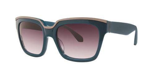 Blue Zac Posen Nico Sunglasses.