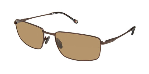 Dark Brown c02 Champion 6037 Extended Size Polarized Sunglasses.