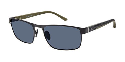Matte Black c03 Champion FL6004 Fleet Titanium Polarized Sunglasses.