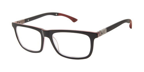Black/Red c01 Champion Goodluck Tween Eyeglasses.