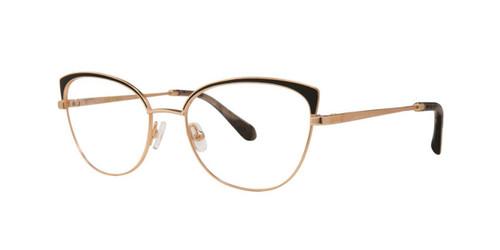 Black Gold Zac Posen Dandridge Eyeglasses.