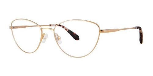 Gold Zac Posen Ludi Eyeglasses.