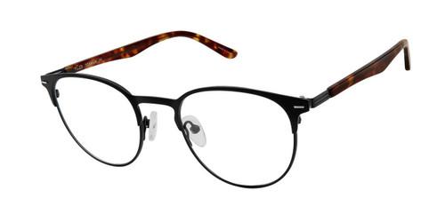 C01 Black/Tort Tlg NU027 Titanium Eyeglasses - Teenager