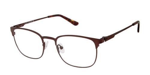 C02 Mt Brown Tlg NU029 Titanium Eyeglasses.