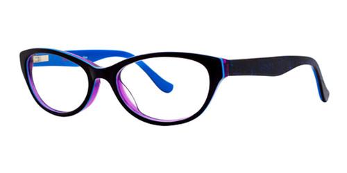 Dark Grape Kensie Alive Eyeglasses - Teenager
