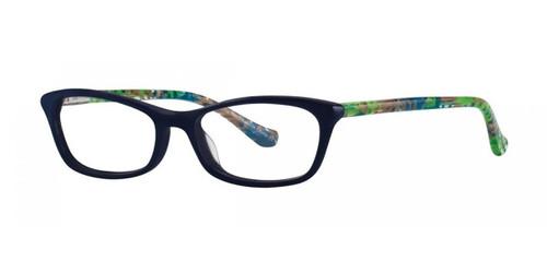 Navy Kensie Moody Eyeglasses - Teenager