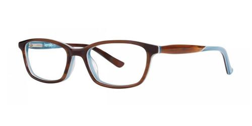 Feathered Brown Kensie Surprise Eyeglasses - Teenager
