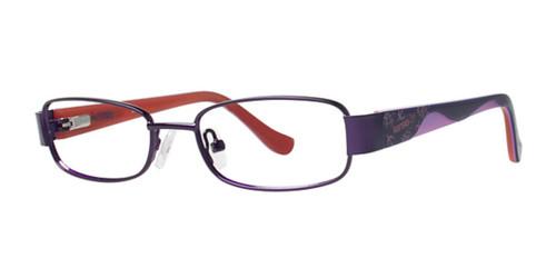 Purple Kensie Wavy Eyeglasses