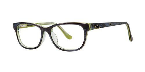 Gray Kensie Girls RX Flower Eyeglasses - Teenager
